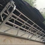 zł 630/800 ll kształt stopu aluminium, konstrukcja stalowa podwieszana podnośnik roboczy podnośnik do okien budynku