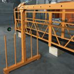 jednofazowy podwieszany podest linowy 800 kg 1,8 kw, prędkość podnoszenia 8 -10 m / min